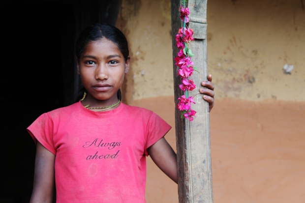 Another photo from Nepal, this time taken for All We Can. I love the strength in this image. So many girls lack that self-confidence.