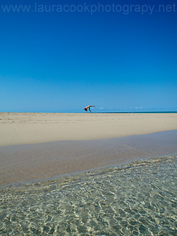 A sand bank just half an hour from Ibo Island - a tourist's playground!