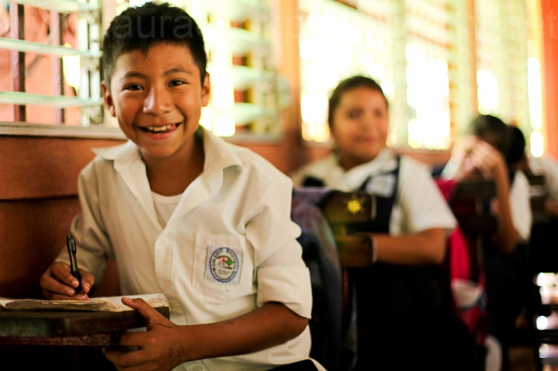 A highlight of the visit to Nicaragua was visiting a school funded by the Amos Trust and seeing the difference a good education can make.