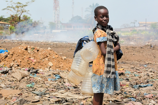 The dump is a harsh environment for young children.