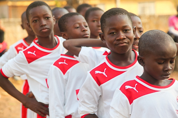Football cannot change the world - but it is making a big difference here in Sierra Leone.