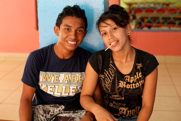 "I want to leave the final words to Alondra, a fantastic young woman shown here with a Team Nicaraguan friend. I asked her what her hopes were for the future and her answer was moving and simple but powerful: ""Work. Keep playing football if God permits that and keep going to the gym…….. and when I have a family I want to make sure my children do not have to go through what I went through."""