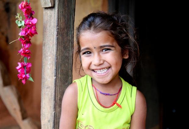 A cheeky smile from Nepal (taken in 2012 for All We Can - formally known as MRDF)