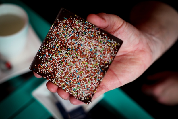Sprinkles look good.