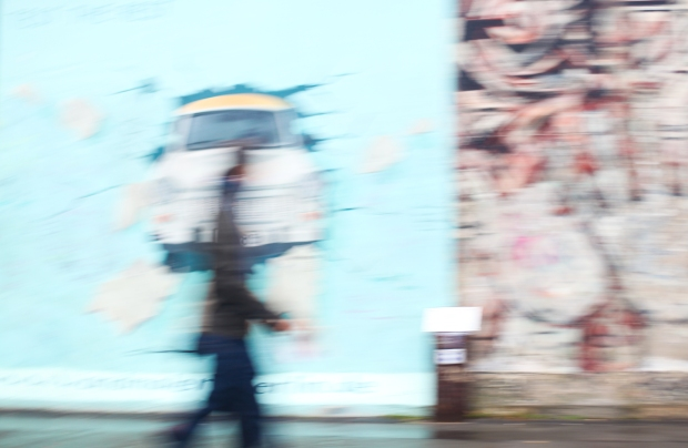 Image 4: Berlin Wall, blurring the lines. (Copyright: Laura Cook - please do not reproduce without permission)