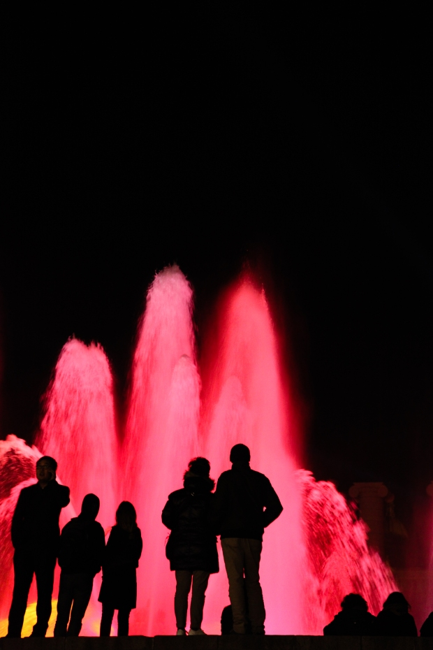 So another year ends and in December we watched the coloured lights of the Barcelona fountain display and said goodbye to a challenging year but one full of wonderful travel opportunities. I wish all my blog followers a joyful, peaceful 2015 full of love and life.