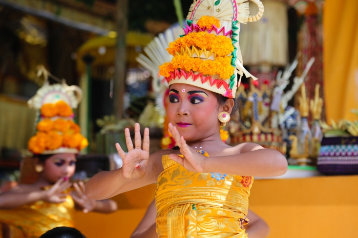 Ceremonies in Bali are full of colour, life and theatre. While on the one hand things are taken incredibly seriously and such ceremonies are sacred people's sense of spirituality also encapsulates fun.