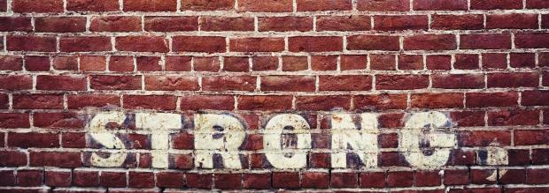 brick wall strong